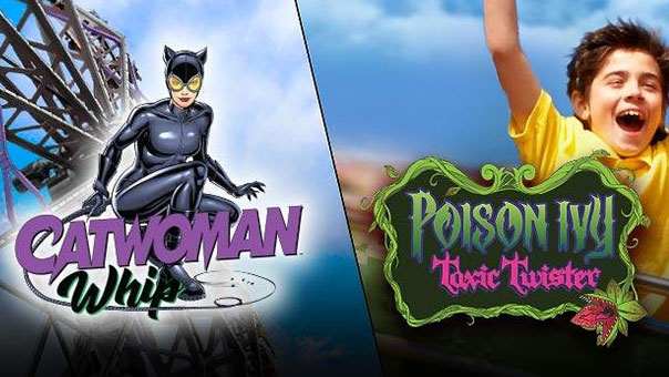 CATWOMAN Whip y POISON IVY Toxic Twister-2020